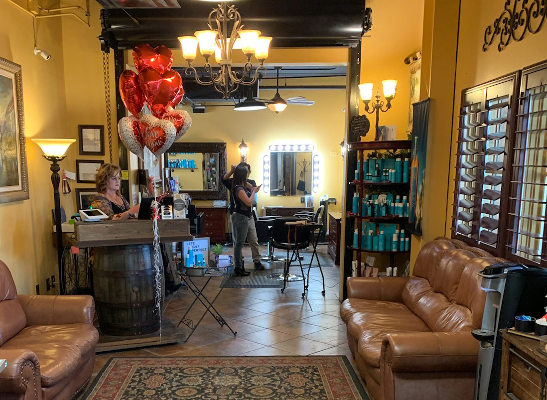 View Our Salon | Thomas Edward Salon & Dry Bar in Temecula, Ca