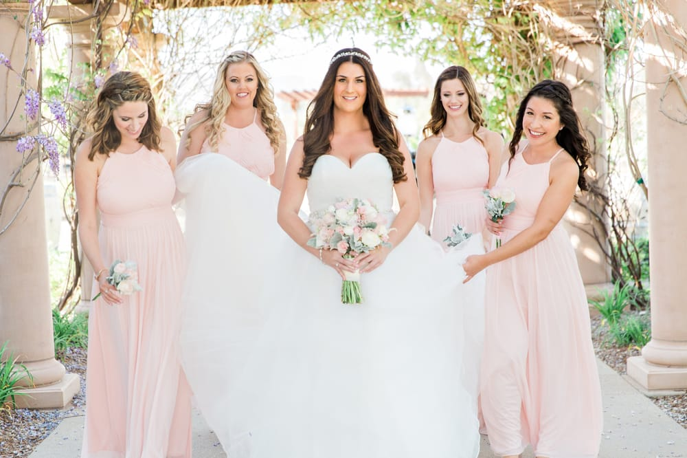 Wedding Party Hair & Makeup Artistry | Salon Services | Thomas Edward Salon & Dry Bar in Temecula, Ca