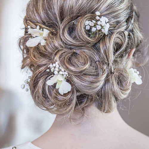 Wedding Hair, Updos & Makeup | Salon Services | Thomas Edward Salon & Dry Bar in Temecula, Ca