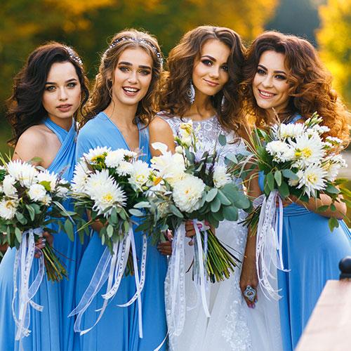 Wedding Party Hair & Makeup | Salon Services | Thomas Edward Salon & Dry Bar in Temecula, Ca